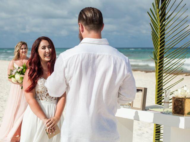 Benjamin and Cara's Wedding in Cancun, Mexico 33
