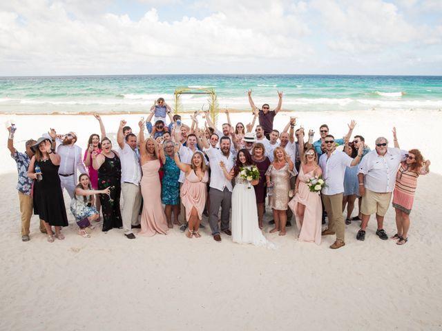 Benjamin and Cara's Wedding in Cancun, Mexico 39