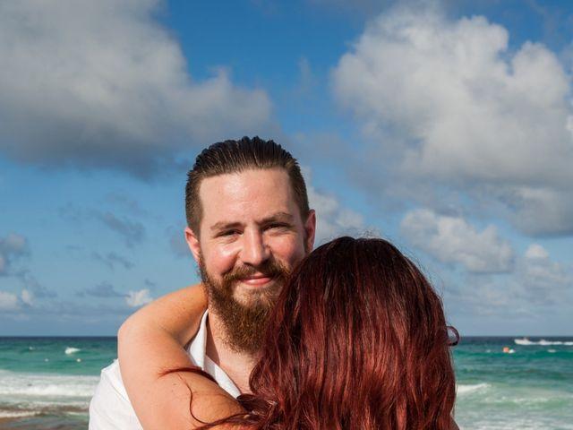Benjamin and Cara's Wedding in Cancun, Mexico 40