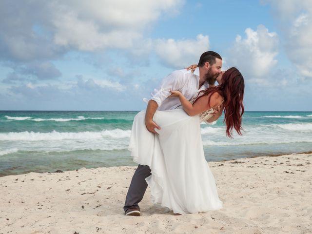 Benjamin and Cara's Wedding in Cancun, Mexico 41