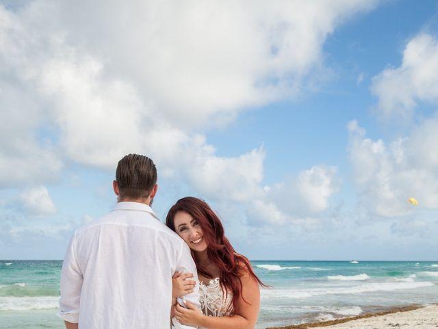 Benjamin and Cara's Wedding in Cancun, Mexico 43