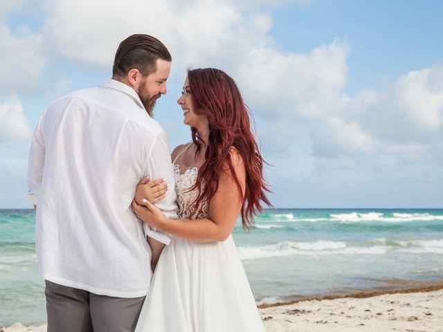 Benjamin and Cara's Wedding in Cancun, Mexico 44