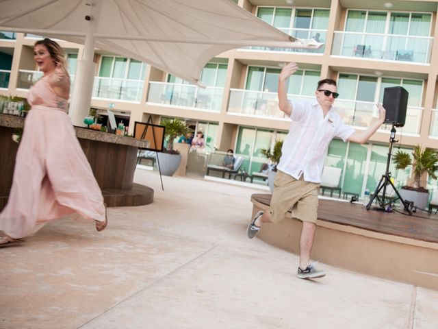 Benjamin and Cara's Wedding in Cancun, Mexico 48