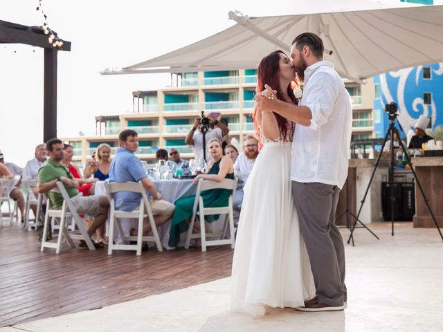 Benjamin and Cara's Wedding in Cancun, Mexico 52