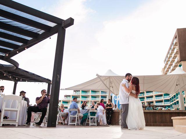 Benjamin and Cara's Wedding in Cancun, Mexico 53