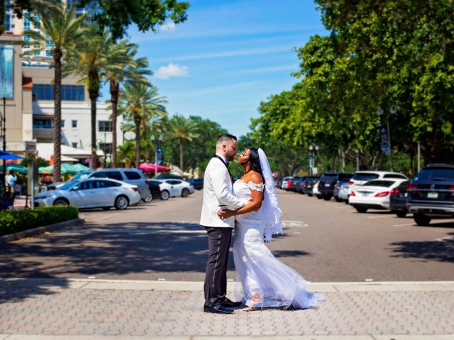 The wedding of Alana and Michael