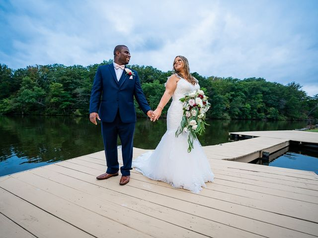 The wedding of Erica and Harold