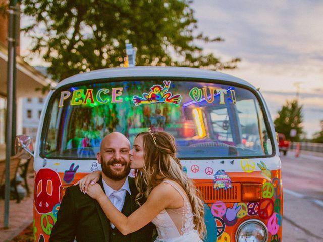 Nicholas and Jordan's Wedding in Cedar Rapids, Iowa 50