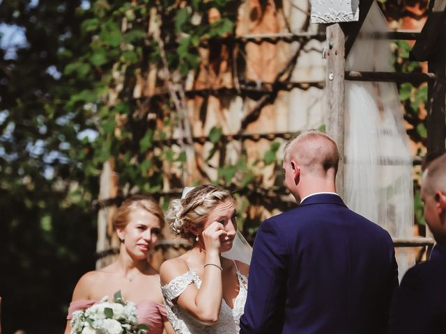 Danielle and John's Wedding in Fort Atkinson, Wisconsin 17