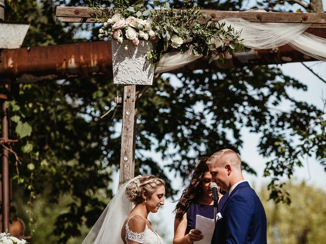 Danielle and John's Wedding in Fort Atkinson, Wisconsin 18
