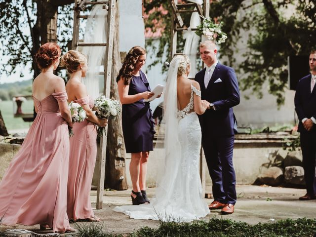 Danielle and John's Wedding in Fort Atkinson, Wisconsin 19