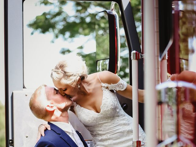 Danielle and John's Wedding in Fort Atkinson, Wisconsin 30