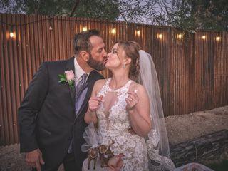 The wedding of Angela and Dan