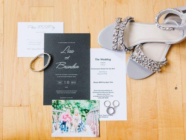 Liza and Brandon's Wedding in Muncie, Indiana 2