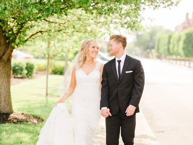 The wedding of Brandon and Liza