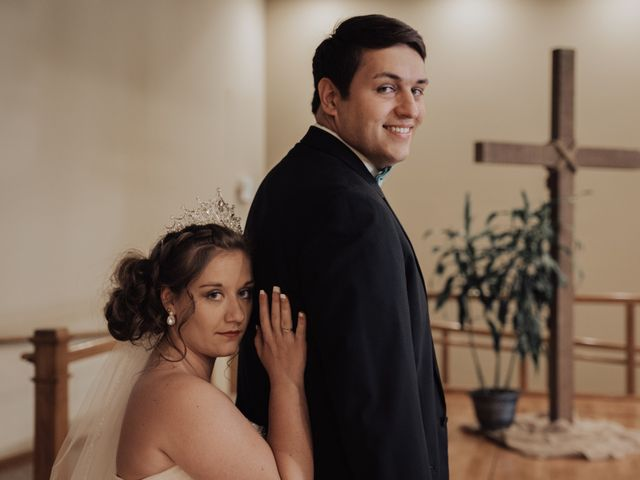 The wedding of Abby and Tristan