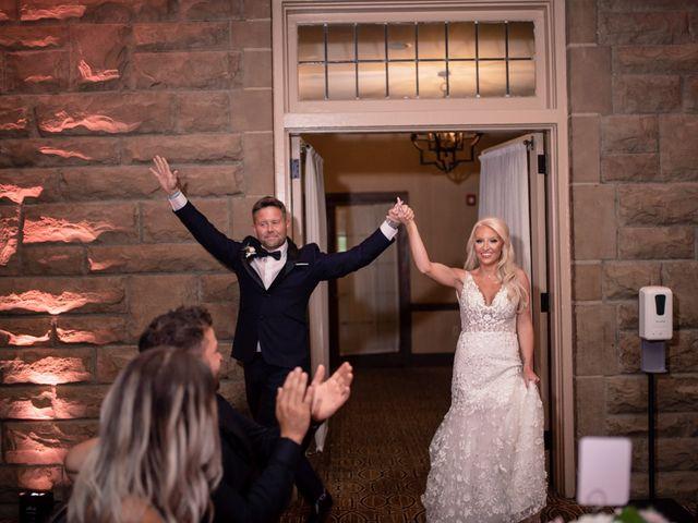 Josh and Caleigh's Wedding in Granville, Ohio 14