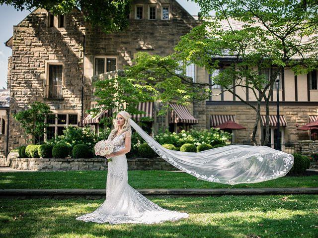 Josh and Caleigh's Wedding in Granville, Ohio 26