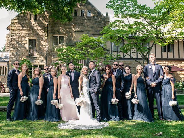 Josh and Caleigh's Wedding in Granville, Ohio 27