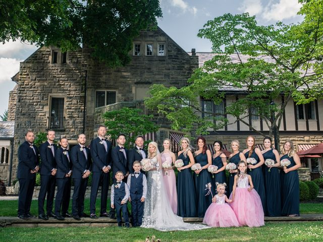 Josh and Caleigh's Wedding in Granville, Ohio 28