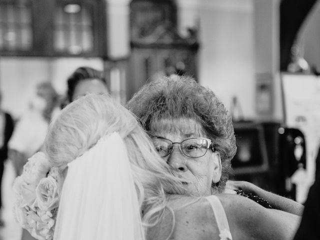 Josh and Caleigh's Wedding in Granville, Ohio 30