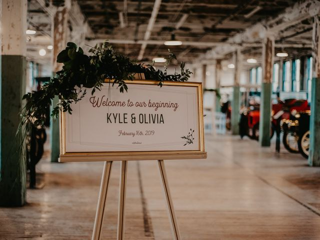 Kyle and Olivia's Wedding in Detroit, Michigan 7