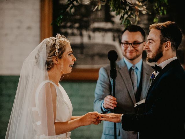 Kyle and Olivia's Wedding in Detroit, Michigan 11