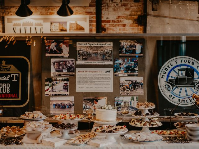 Kyle and Olivia's Wedding in Detroit, Michigan 17