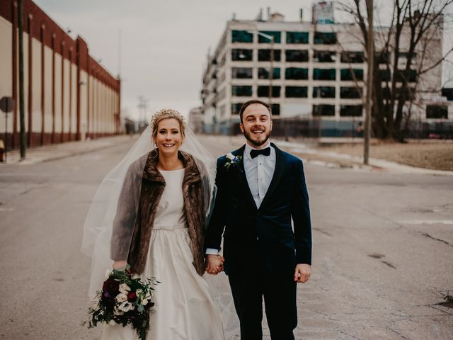 Kyle and Olivia's Wedding in Detroit, Michigan 23