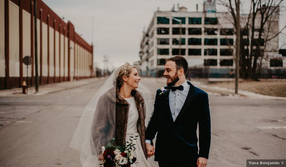 Kyle and Olivia's Wedding in Detroit, Michigan