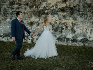 The wedding of María and David