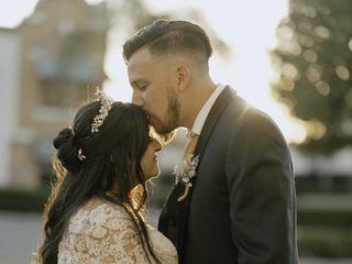 The wedding of Sabrina and Jesse 1