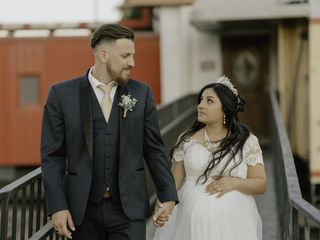 The wedding of Sabrina and Jesse