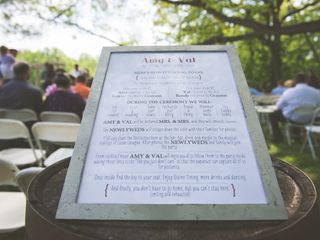 Valerie and Amy's Wedding in Orefield, Pennsylvania 8