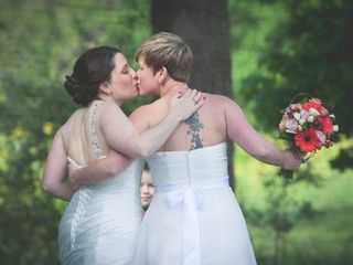 Valerie and Amy's Wedding in Orefield, Pennsylvania 13
