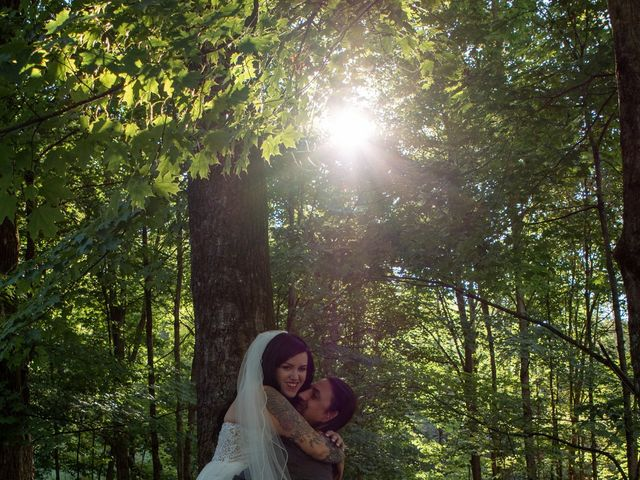 Katie and Ross's Wedding in Corinth, New York 34