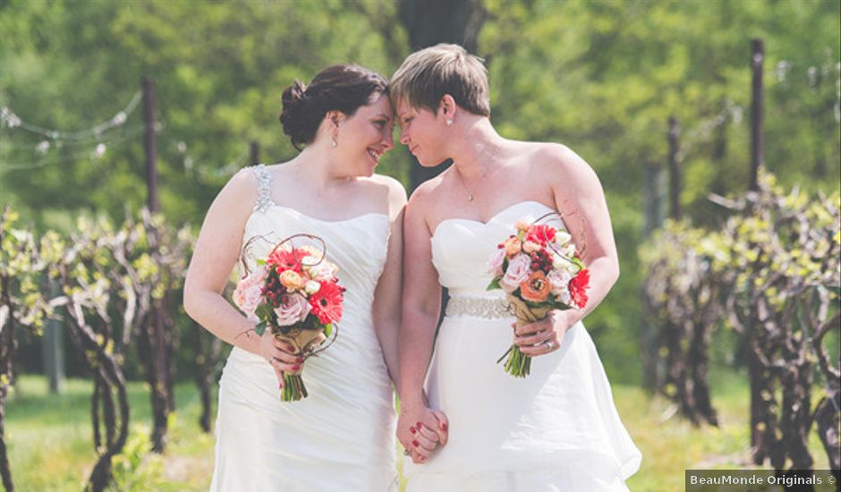 Valerie and Amy's Wedding in Orefield, Pennsylvania