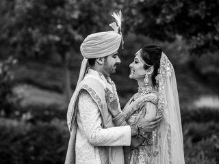 The wedding of Shivani and Kaushal
