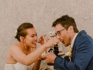 The wedding of Gene and Rena 1