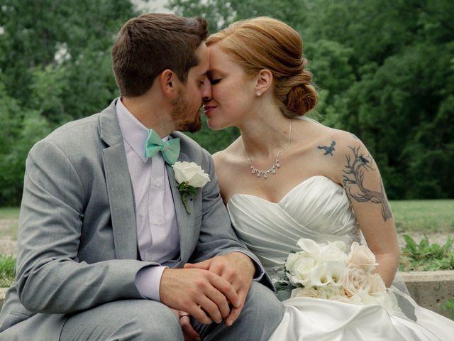 The wedding of Jack and Jodi