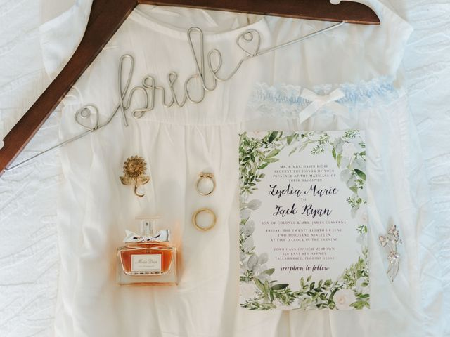 Jack and Lydia's Wedding in Tallahassee, Florida 3