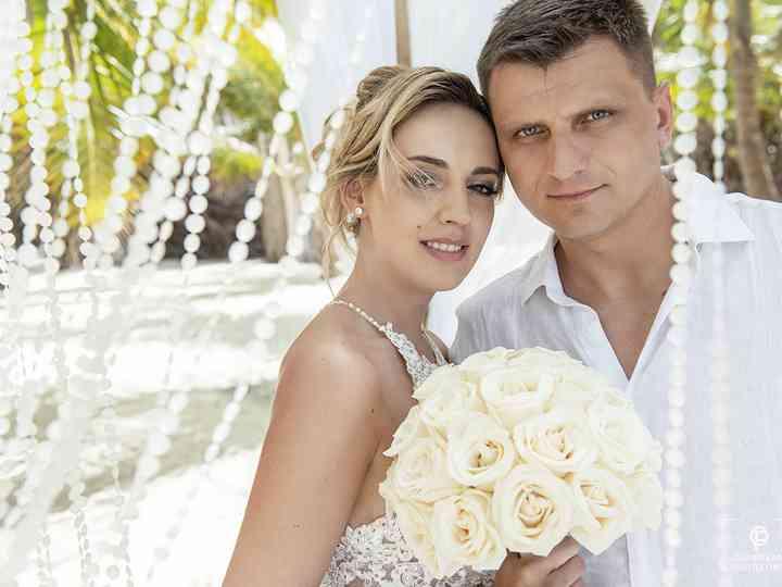 The wedding of Aleksandra and Piotr