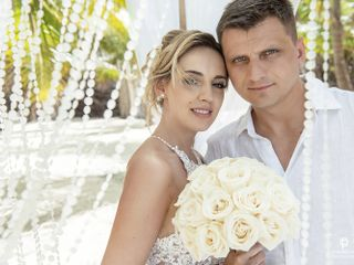 The wedding of Aleksandra and Piotr