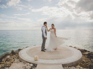 The wedding of Carlos and Christina
