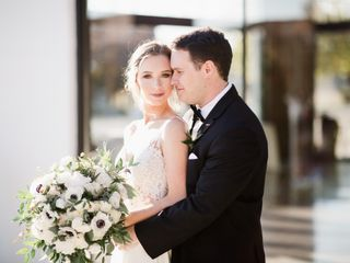 The wedding of Caroline and Christian