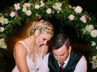 The wedding of Whittni and Tucker 1