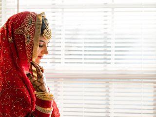 The wedding of Aman and Rajjat 1