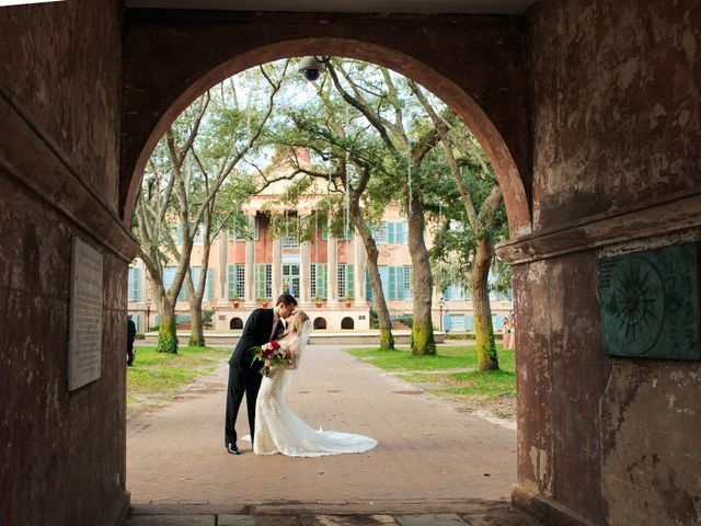 Troy and Carly's Wedding in Mount Pleasant, South Carolina 7