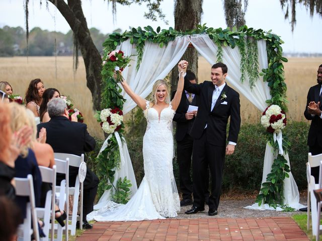 Troy and Carly's Wedding in Mount Pleasant, South Carolina 16
