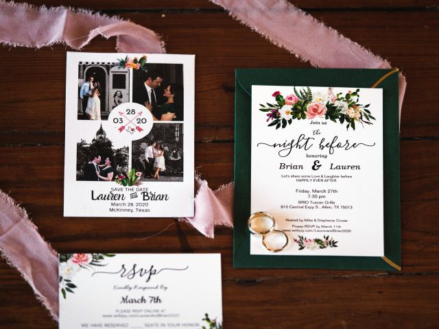 Brian and Lauren's Wedding in McKinney, Texas 11
